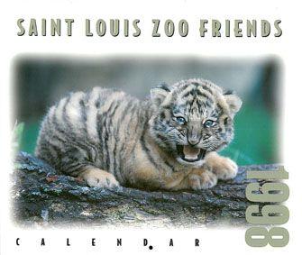 Saint Louis Zoological Park Saint Louis Zoo Friends. Calendar 1998.