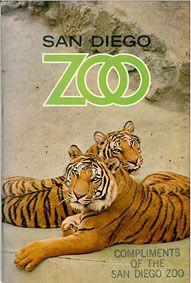 San Diego Zoo Zooführer (2 Tiger)