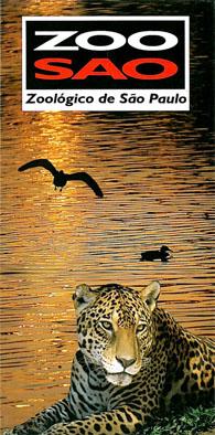 Sao Paulo Zoo Faltplan (Wasser, Jaguar)