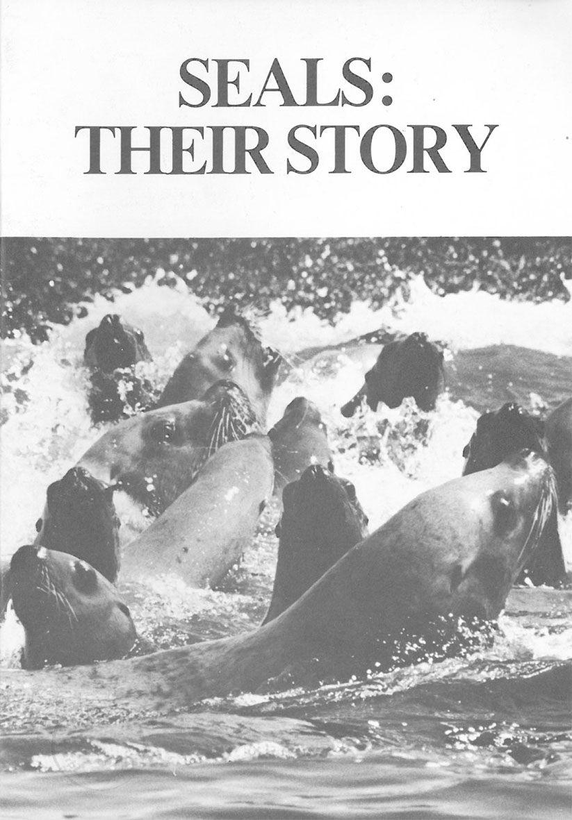 Vancouver Aquarium Waters- Journal of the Vancouver Aquarium - Vol. 3, No. 2: Seals: Their Story