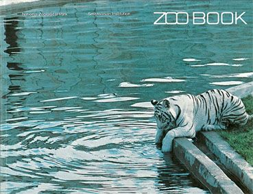 National Zool. Park Guide (weißer Tiger). Zoo book