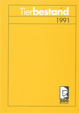 Zoo Rostock Tierbestand 1991