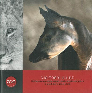 Zoo Antwerpen Visitor's Guide - Finding your way among animals, plans, architecture and art