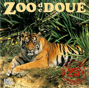 Zoo de Doue-la-Fontaine Guide (Tiger) zum 25. Park-Jubiläum