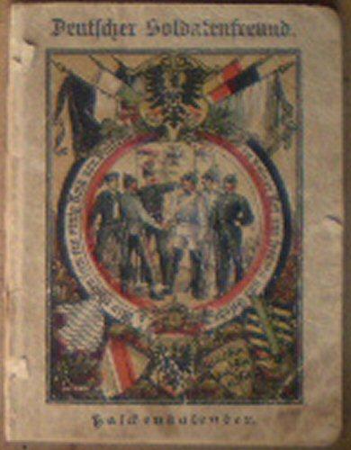 Deutscher Soldatenfreund, Kalender für das dutsche Herr und die Marine auf das Jahr 1903