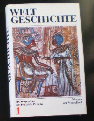 Pleticha, Heinrich (Hrsg.) Weltgeschichte in 14 Bänden, nur Band 1, Morgen der Menschheit, Vorgeschichte und Frühe Hochkulturen