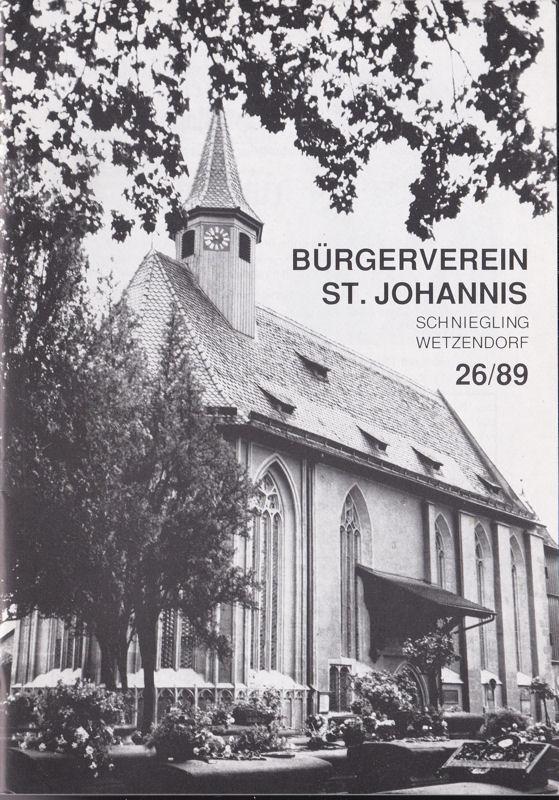 Bürgerverein St Johannis, Schniegling-Wetzendorf Bürgerverein St Johannis, Schniegling-Wetzendorf 26/89