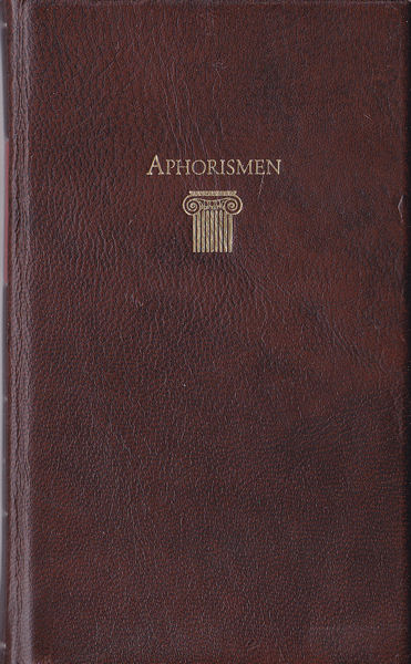Ramminger, Johann (Vorwort von) Lebensweisheiten aus der Antike Band 1, Aphorismen