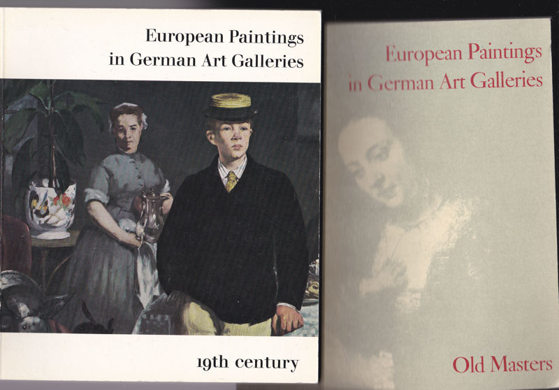 Grote, Ludwig (Ed.) Old Masters / 19th Century, European Paintings in German Art Galleries vol. 1 & 2