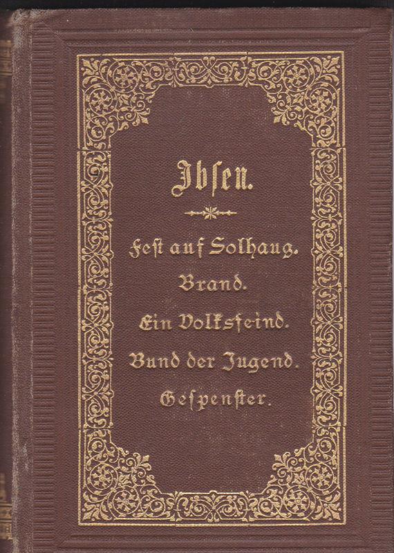 Ibsen, Henrik Henrik Ibsens gesammelte Werke. Zweiter Band,