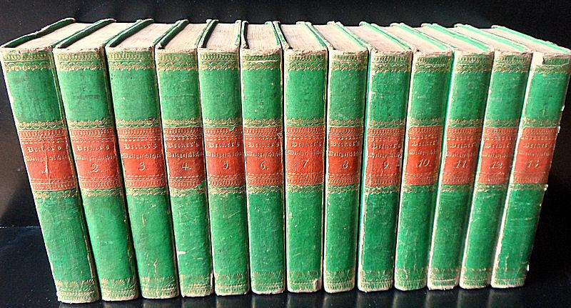 Loebell, Johann Wilhelm (neu bearbeitet von) Woltmann, J.G. und Menzel, K.A. (Fortsetzungen) Karl Friedrich Beckers Weltgeschichte. Sechste Ausgabe, Band 1-13 (von 14)