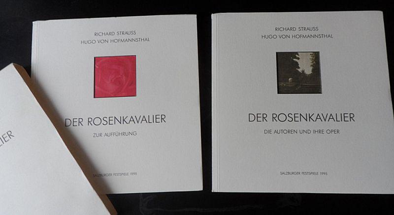 Salzburger Festspiele (Hrsg.) Programmhefte: Der Rosenkavalier: zur Aufführung/ Die Autoren und ihre Oper