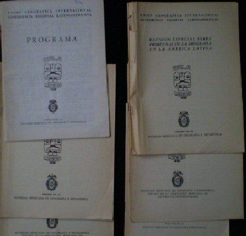 CRLA, Mexico CRLA Mexico Konferenz Unterlagen, 1966