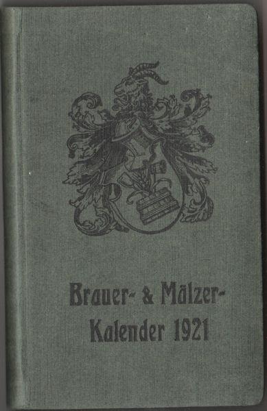 Brauer- & Mälzer-Kalender 1921