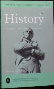 Smith, Joseph History vol 90, issue 1, no. 297, January 2005
