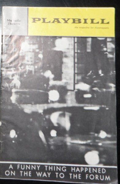 Wager, Walter (Ed.) Playbill, Vol 1 (8), August, 1964