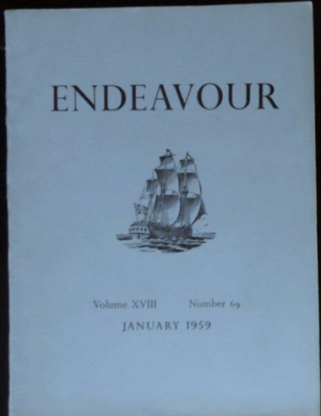 Williams, Trevor (Ed.) Endeavour Vol. 18 No. 69 January 1959