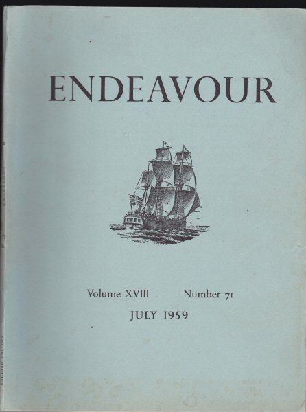 Williams, Trevor (Ed.) Endeavour Vol. 18 No. 71 July 1959
