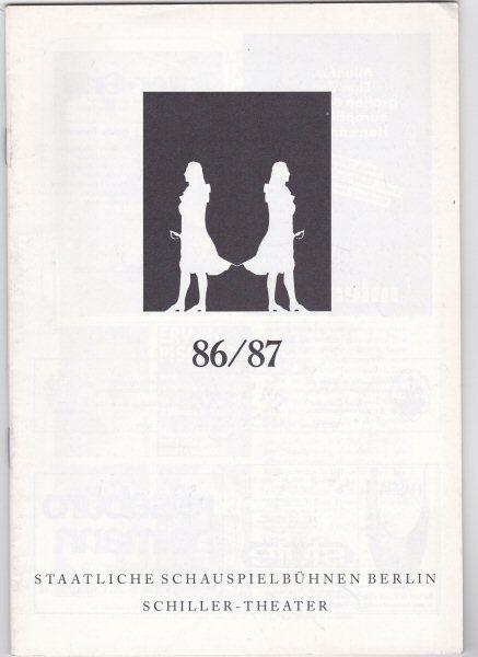 Ramke, Ute (Ed.) 86 / 87 (Spielplan)