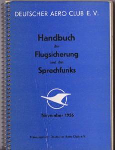 Handbuch der Flugsicherung und des Sprechfunks, November 1956