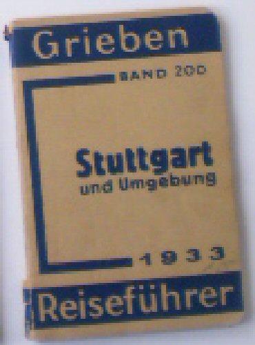 Griebens Reiseführer, Stuttgart und Umgebung