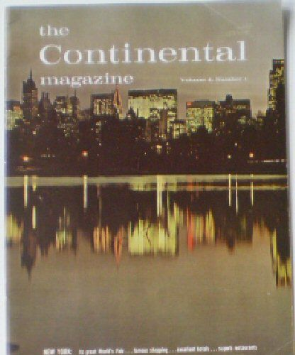 Dykeman, CH (Ed.) The Continental Magazine, vol 4, nr. 1