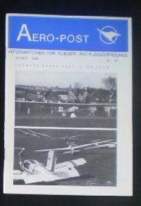 Nerb, Helmut (Ed.) Aero-Post, Informationen für Flieger und Fliegerfreunde, Oktober 1986