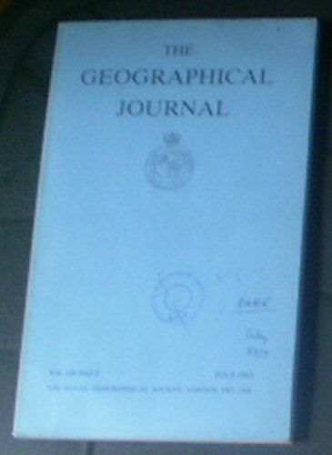 Farmer, BH (Ed.) The Geographical Journal, Vol.149 Part 2, July 1983