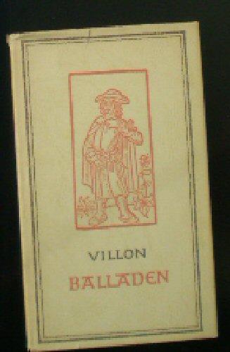 Villon, Francois Balladen 0