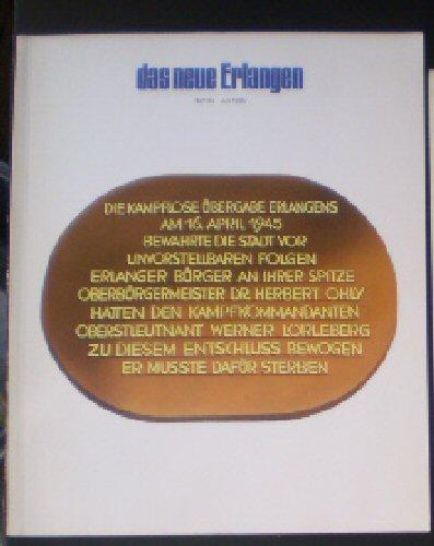Jasper, Gotthard et Al (Hrsg.) Das neue Erlangen Heft 94, Juli 1995