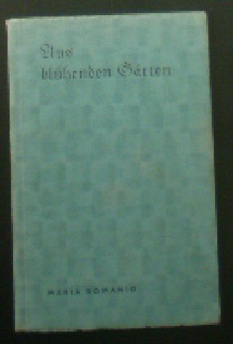Domanig, Maria (Ed.) Aus blühenden Gärten, Gedichte