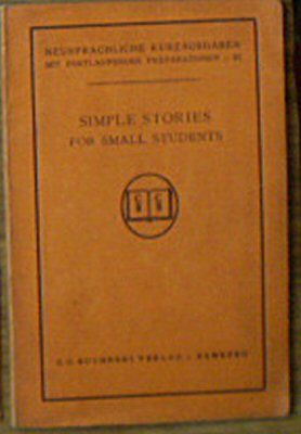 Page, Clothilde N Simple Stories for small Students, (25 Thrilling Tales for Beginners)