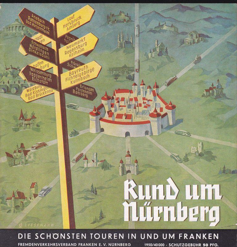 Fremedenverkehrsverband Franken eV Rund um Nürnberg / Round Nuremberg