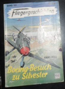 Holl, Hans Boeing-Besuch zu Silvester, Fliegergeschichten Band Nr. 101
