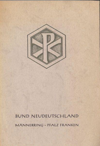 Männerring, Pfalz-Franken Bund Neudeutschland Männerring Pfalz-Franken