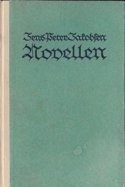 Jacobsen, Jens Peter Die Novellen