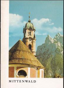 Pfarramt Mittenwald (Hrsg.) Die St Peter- und Paulskirche zu Mitenwald