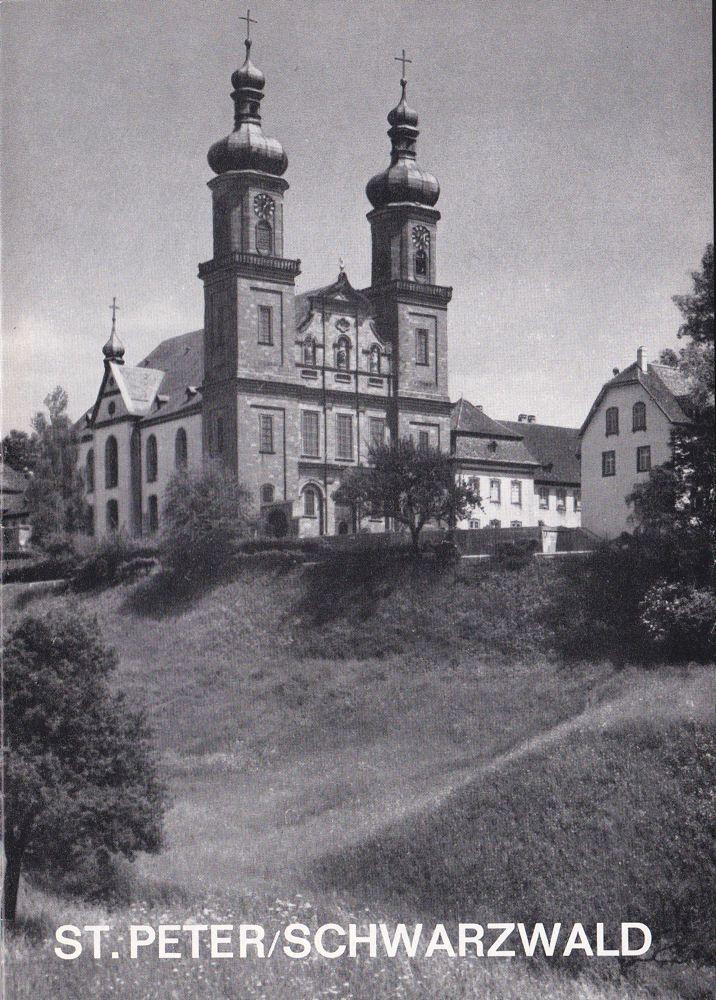 Ginter, Hermann Seminar- und Pfarrkirche St Peter auf dem Schwarzwald