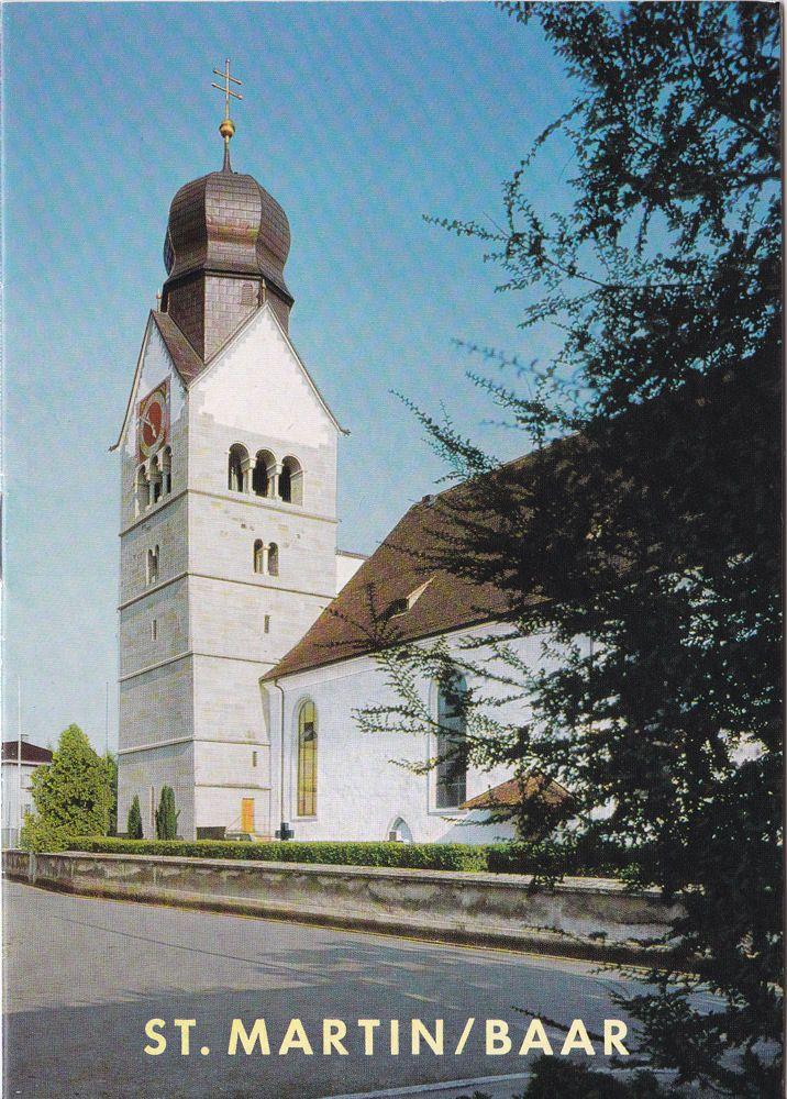 Reinle, Adolf Pfarrkirche St Martin in Baar