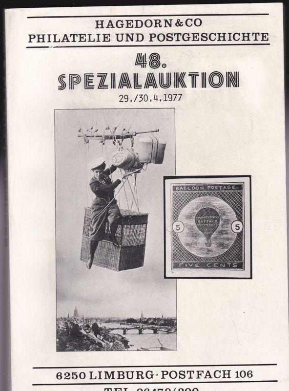 Hagedorn & Co 48. Spezialauktion 29. - 30.4.1977