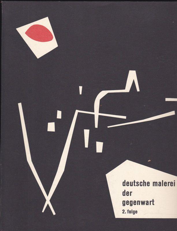 Woldemar Klein Verlag Deutsche Malerei der Gegenwart 2. Folge, Baden-Württemberg, Rheinland