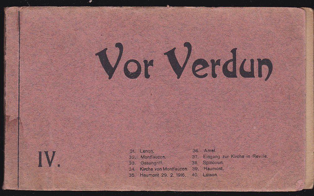 Verlag für allgemeines Wissen Vor Verdun 4