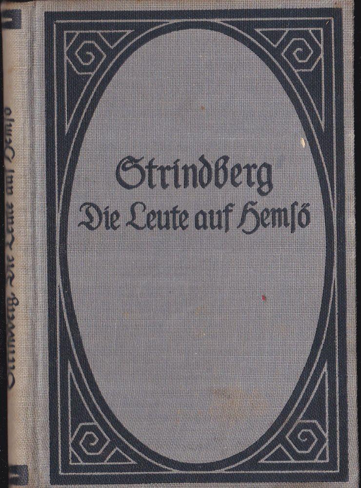 Strindberg, August Die Leute auf Hemsö