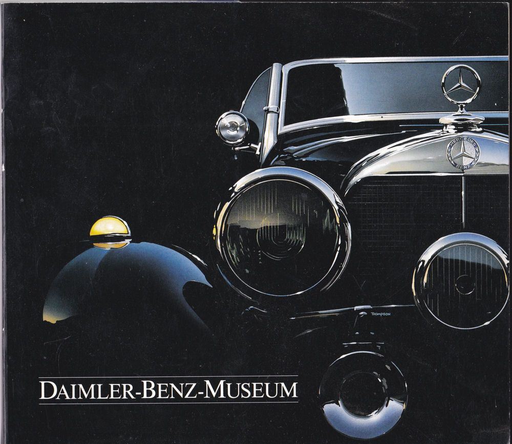 Daimler-Benz AG Daimler-Benz-Museum (German language)