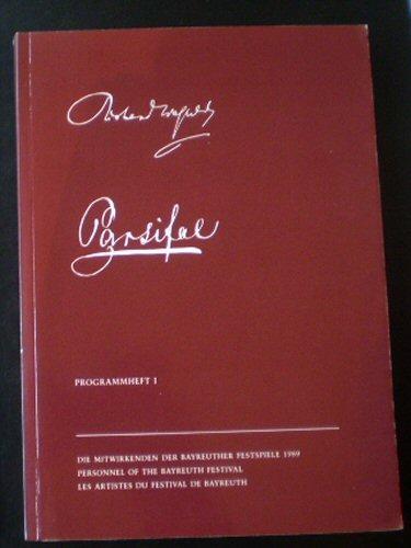 Vogt, Matthias Theodor (Ed.) Bayreuther Festspiele Programmheft 1989/1