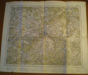 Preuß. Landesaufnahme 1905 Berlin 1: 300 000