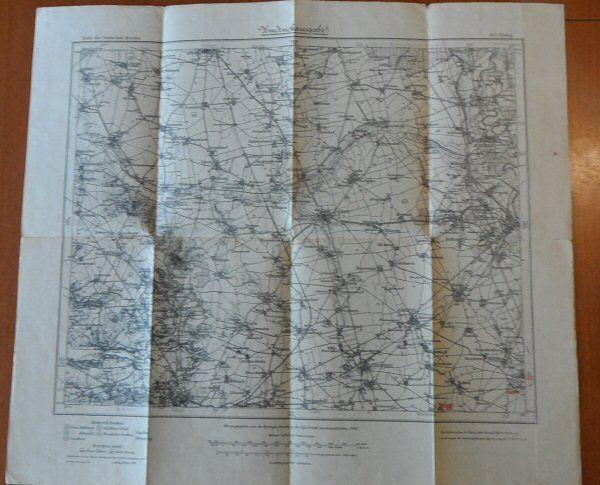 Kartorgr. Abteilug der Kgl.Preuß. Landesaufnahme (Hrsg) Karte des deutschen Reiches,Nr. 364 Zörbig