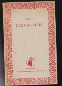 Kassner Rudolf (übertragen von) Platons Gastmahl