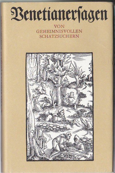 Schramm, Rudolf Venetianerfragen, von geheimnisvollen Schatzsuchern