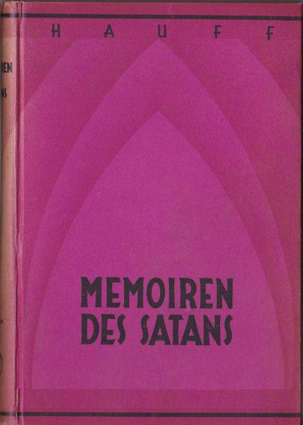 Hauff, Wilhelm Mitteilungen aus den Memoiren Satans